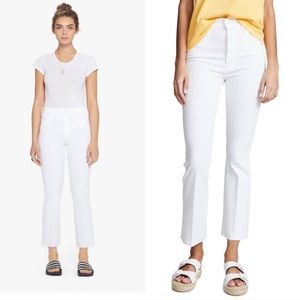 Mother Jeans High Waisted Looker Ankle Fray